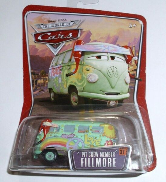 Disney Pixar The World of Cars 155 Die Cast Pit Crew Member Fillmore New