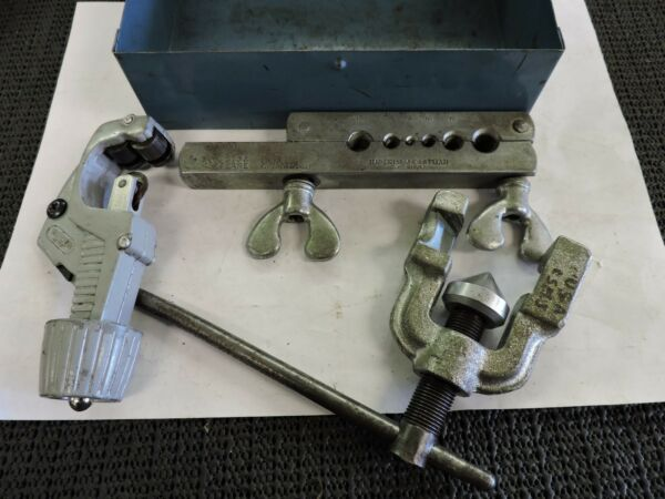 IMPERIAL  FLARING AND SWAGING TUBE WORKING TOOL KIT