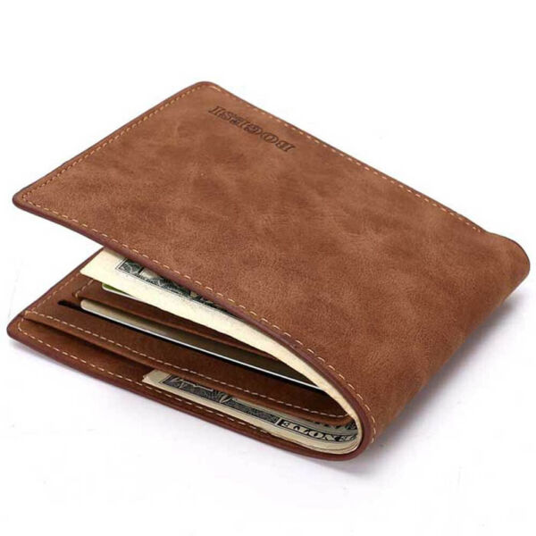 Men's Leather Bifold Credit ID Card Holder Wallet Clutch Billfold Purse $7.39