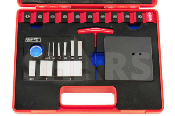 OUT OF STOCK 90 DAYS Shars Flex bar Gage Block Check Set for Caliper Micrometer