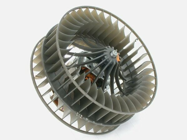 Porsche 911 930 (86-89) AC evaporator Blower Motor OEM squirrel fan cage air