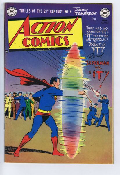 Action Comics #162 DC Pub 1951 Mitchell Moran copy