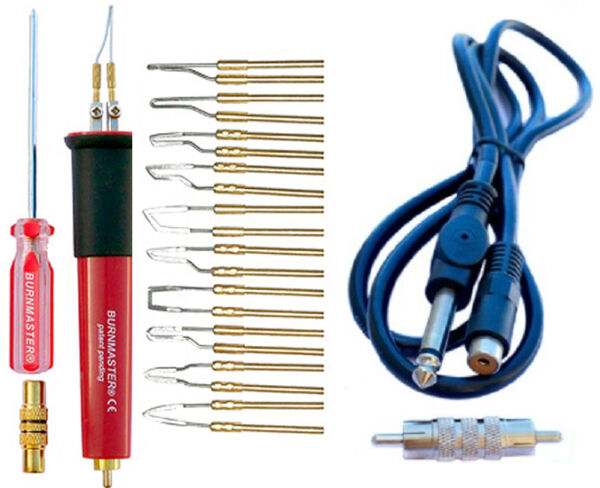 Burnmaster Pen+ tips+ adapter cord for your Detail Master
