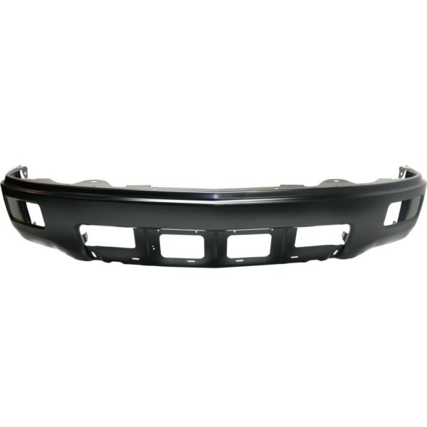 Front Bumper For 2014 2015 Chevrolet Silverado 1500 LTZ Painted Black Steel