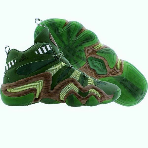 adidas CRAZY 8 PORTLAND TIMBERS Green Limited Edition Basketball Shoes NEW Mens
