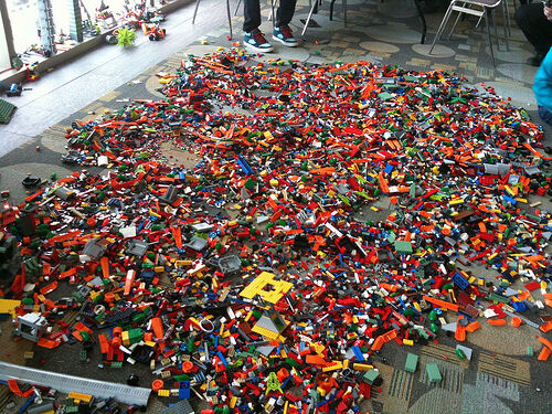 ☀️1 to 1000 POUNDS LB of LEGO LEGOS PIECES FROM HUGE BULK LOT PARTS @ RANDOM