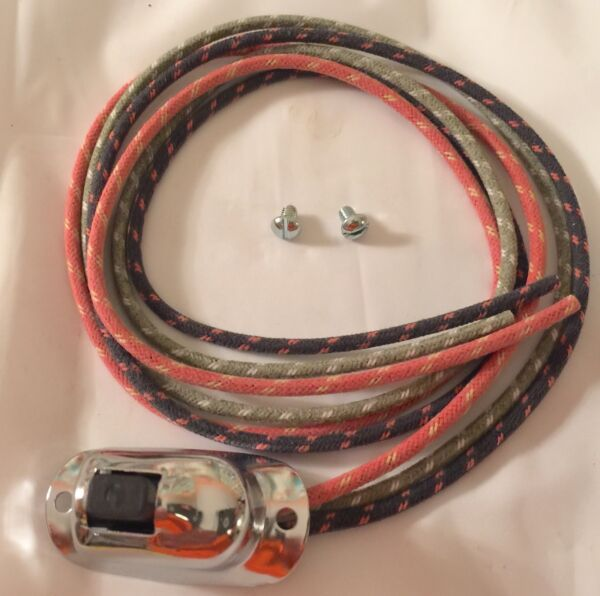 Harley 70058 50B Turn Signal Direction Switch amp; Cable Panhead Internal Wired USA $39.95