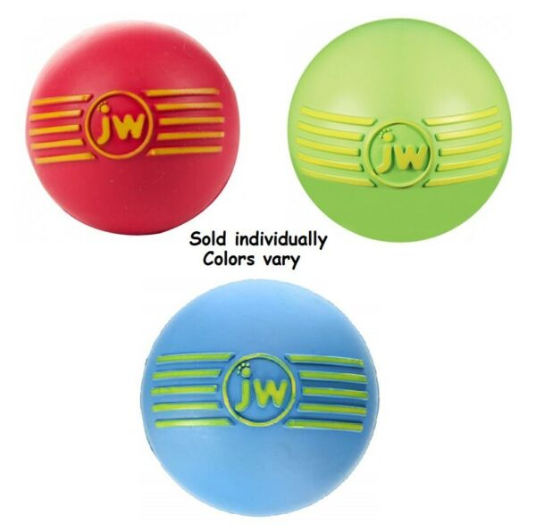 iSqueak Balls Toys for Dogs Fun Rubber Squeaky Durable Bouncy Large Dog Toy