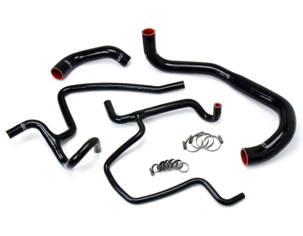 HPS Black Charger Silicone Radiator Heater Hose Kit Coolant OEM 57 1645 BLK