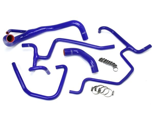 HPS Blue Charger Silicone Radiator Heater Hose Kit Coolant OEM 57 1646 BLUE