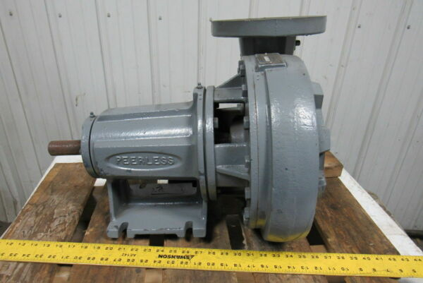 Peerless F2 1140 Horizontal End Suction Centrifugal 5x4quot; Pump 400GPM 62H FT $607.03