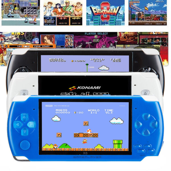 8GB 4.3'' 32Bit 10000 Games Built-In Portable Handheld Video Game Console Player