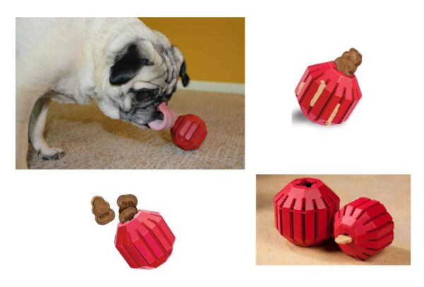 Stuff-a-Ball Interactive Dog Toy Fill with Treats Keep Dogs Busy