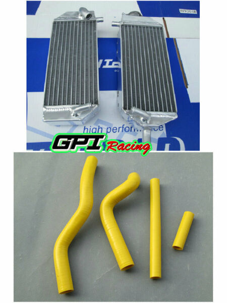 radiator + hose FOR Suzuki RM125 RM 125 2001-2008 2001 2002 2003