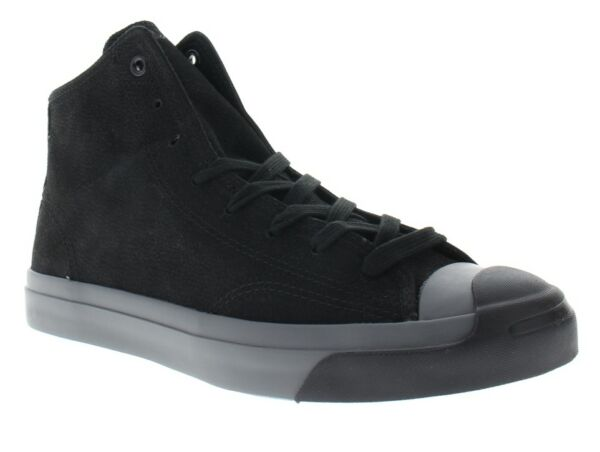 Converse Men's Jack Purcell Mid Black Sneakers Shoes 149924C