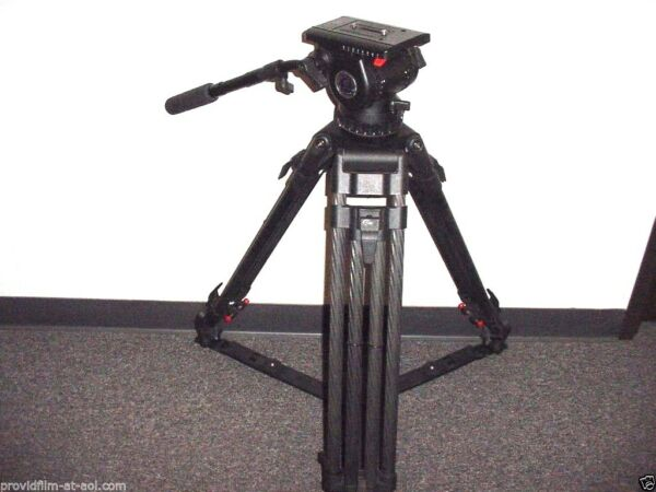 Sachtler Clone Fluid Head CF Ball Level Video 7+7+8 TRIPOD. WAS $10K NOW: $3795.