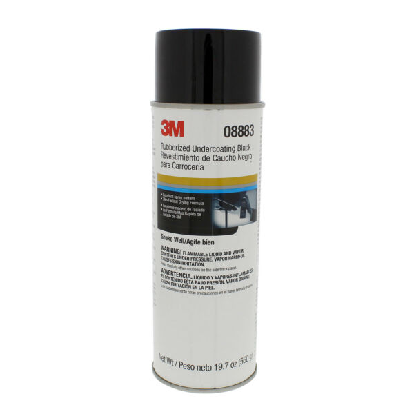 3M 08883 Rubberized Undercoating 19.7 oz Net Wt (6 PACK)