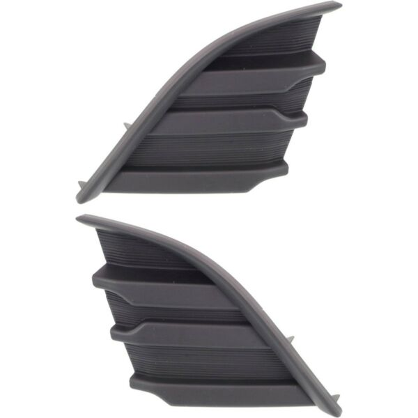 Bumper Grille For 2014 2016 Scion tC Set of 2 Left amp; Right Side Paint to Match $24.76