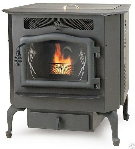 Country Flame Harvester HR-01 Multi-fuel Corn Wood Pellet Stove 50000 BTUHr