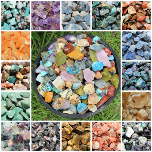 Raw Rough Natural Stones: Choose Type (Gemstone Reiki Crystal Specimen)