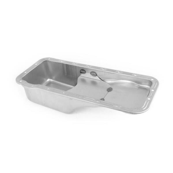 Canton Engine Oil Pan 15-800; Replacement 4.0 Quarts Raw for Ford 352-428 FE