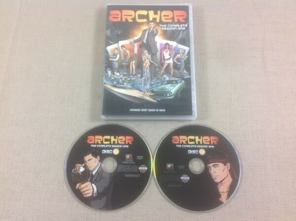 DVD Archer The Complete Season One Near Mint Super Quick FREE Shipping