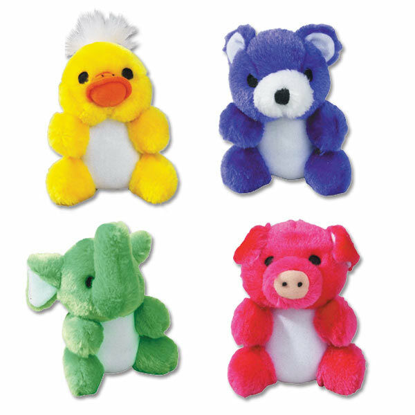 Kutie Pies Plush Dog Toys Colorful Adorable Soft Squeaker For Puppies 4 34