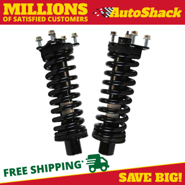 Front Pair (2) Complete Strut Assembly wCoil Spring Fits 2005-2006 Jeep Liberty
