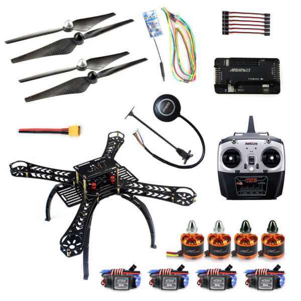 2.4GHz 4-Axis RC Quadcopter Drone DIY Kit Headless Mode with APM 2.8 M7N GPS
