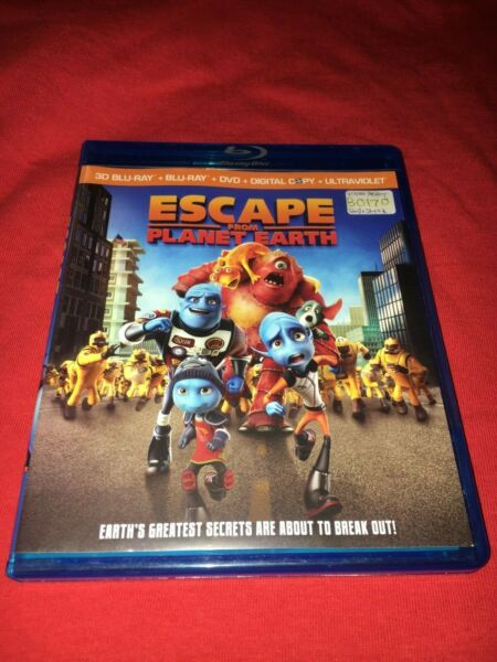 Escape From Planet Earth (Blu-ray Disc Only)   $4.99