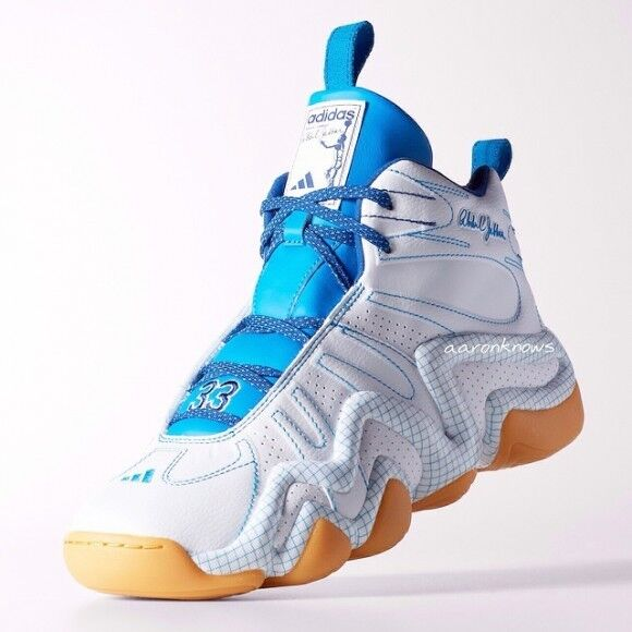 Adidas CRAZY 8 KAREEM ABDUL JABBAR BLUEPRINT 1 Basketball light Shoes~Mens sz 14