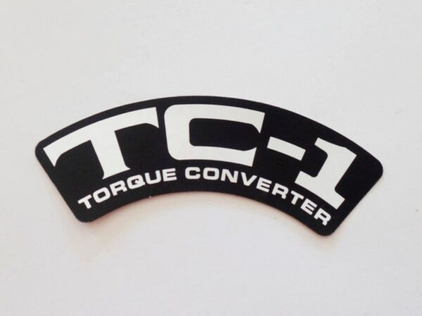 NOS Rupp TC 1 Torque Converter Decal mini bike roadster scrambler hustler $12.50