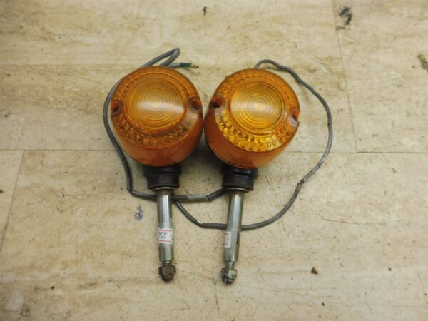 1979 Yamaha MA50 MA 50 Carrot Y736gt; front turn signals blinkers left right #1 $45.99