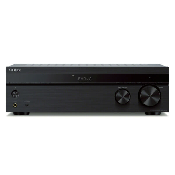 Sony STR-DH190 Stereo Receiver with Phono Input and Bluetooth Connectivity