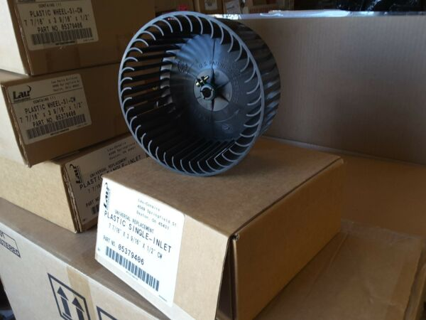 LAU Conaire 05379406 7 7 16quot; quot; SINGLE BLOWER WHEEL INLET 3 9 16quot;×1 2quot; New $45