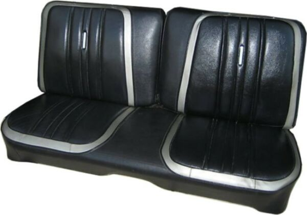 1970 Road Runner  Superbird  Satellite Custom Bench & Rear Seat Covers - PUI