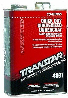 Transtar 4361 Quick Dry Rubberized Undercoating Gallon