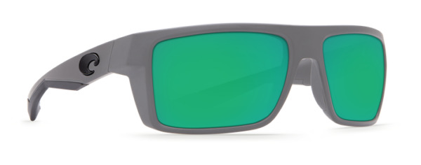 COSTA DEL MAR MOTU POLARIZED SUNGLASSES MATTE GRAY/GREEN 580G GLASS MTU98 OGMGLP
