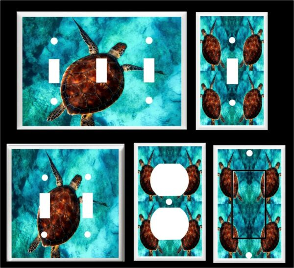 SEA TURTLE # 21 LIGHT SWITCH COVER PLATE Home Decor
