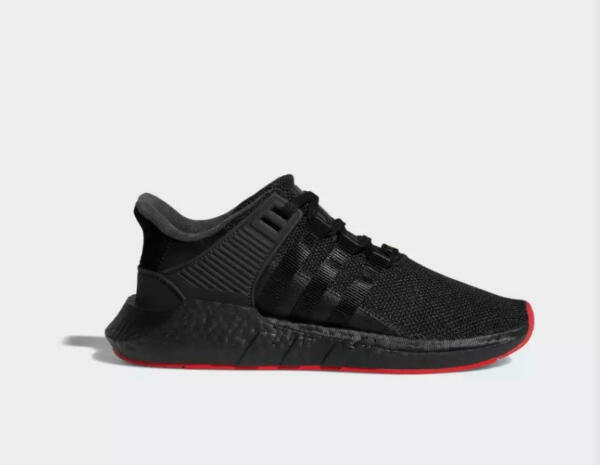 NIB Addidas EQT Support 93/17 Boost Sneakers / Shoes CQ2394 - Red Black - 11.5