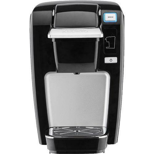 Single Serve Coffee Maker Machine One Cup Brewer K-Cup Pods Compact Keurig Black