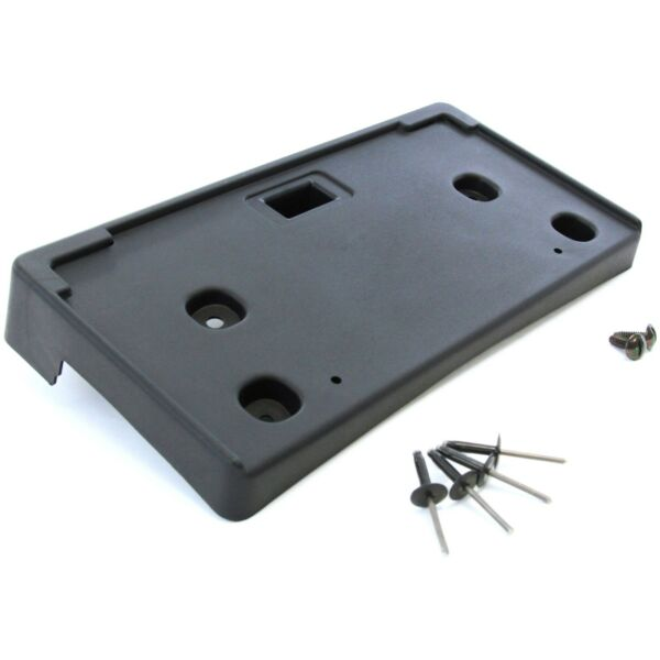 2011-2014 Fits Chevy Cruze Front License Plate Tag Black Bracket Holder with HW