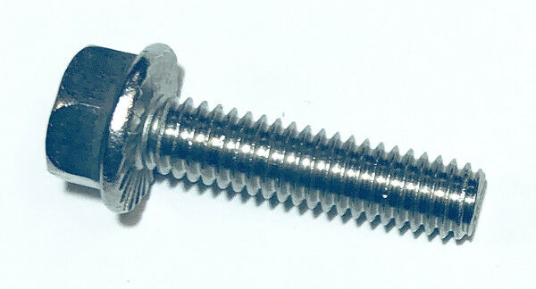 (25) 5/16-18 X 1-1/4 Hex Flange Bolts with Serrations 18-8 Stainless