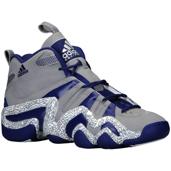 RARE~Adidas PERFORMANCE CRAZY 8 TRIBAL PRINT 1 Basketball light Shoe~Men sz 11.5