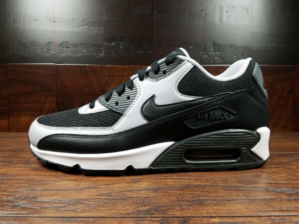 Nike Air Max 90 Essential  (Black / Grey / Anthracite) [537384-053] Mens 7.5-13