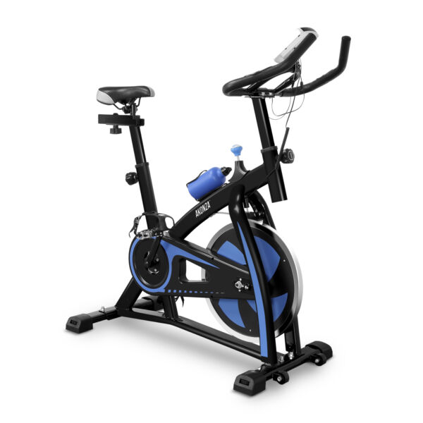 Indoor Exercise Bike Cycling Spinning Bike Home Gym Cardio Training Workout Blue