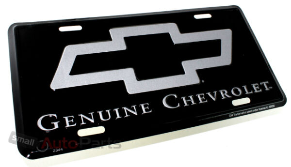 NEW!!! GENUINE CHEVROLET LICENSE PLATE ALUMINUM METAL STAMPED AUTO/CAR/TRUCK TAG