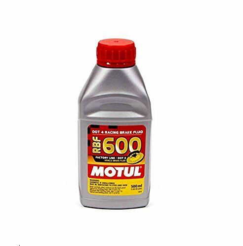 Motul Factory Line Dot-4 100 Percent Synthetic Racing Brake Fluid - 500 ml