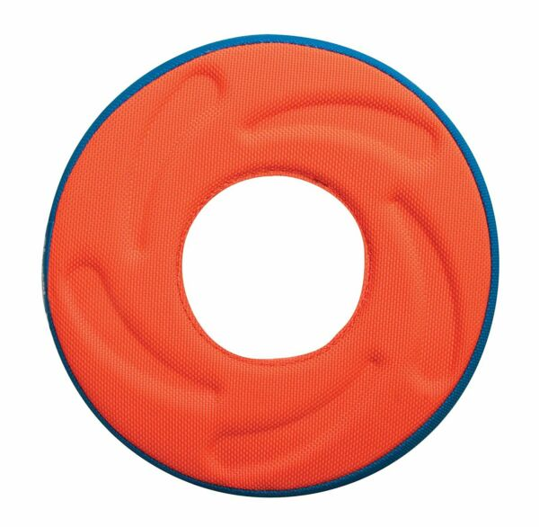 Chuckit! ZIP FLIGHT AMPHIBIOUS FLYING RING Floats Dog Fetch Toy MEDIUM