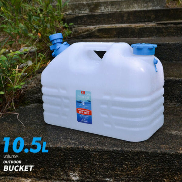 Portable Outdoor Car Camping Plastic Bucket Water Container Bottle Pail Tank